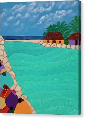 Canvas Print - Curacao Lagoon by Synthia SAINT JAMES
