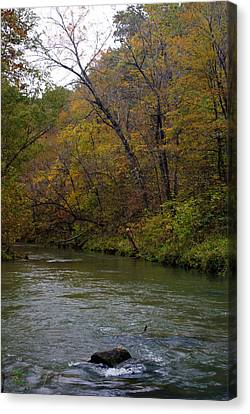 Current River 8 Canvas Print