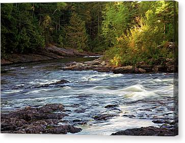 Current River Rapids Canvas Print by Bill Morgenstern
