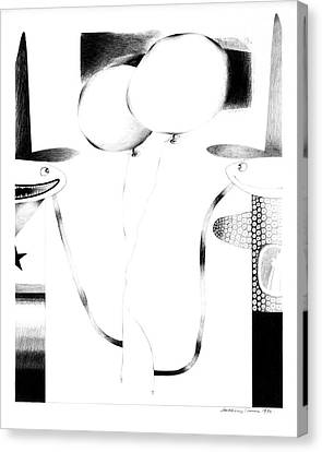Cycloptic Couple Canvas Print by Tony Paine