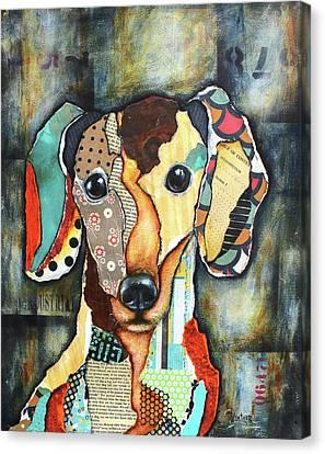 Dachshund Canvas Print by Patricia Lintner