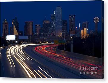 Dallas Commute Canvas Print