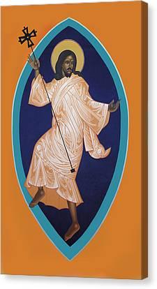 Dancing Christ Canvas Print by Mark Dukes
