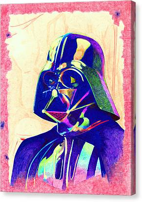 Darth Vader Canvas Print by Kyle Willis