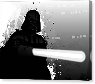 Darth Vader Canvas Print by Nathan Shegrud