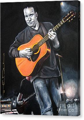 Dave Mathews Band Canvas Print by Eric Dee