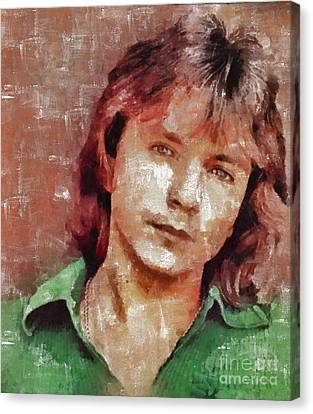 Thriller Canvas Print - David Cassidy, Singer And Actor by Mary Bassett