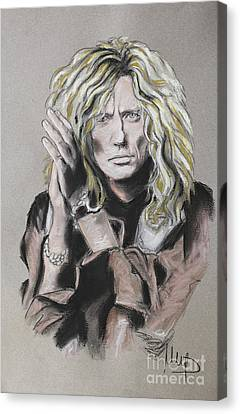 David Coverdale Canvas Print by Melanie D
