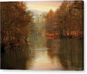 Day's End Canvas Print by Jessica Jenney