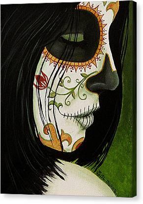 De Un Dia Para Otro Canvas Print by Al  Molina