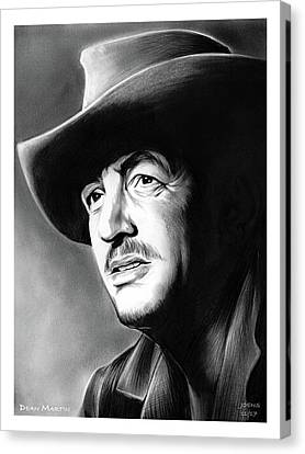 Dean Martin Canvas Print by Greg Joens