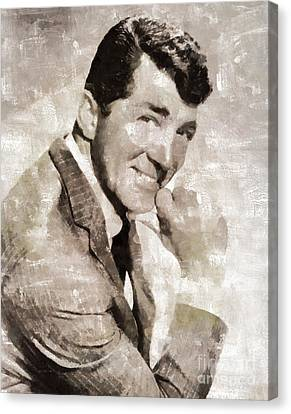 Dean Martin Vintage Hollywood Legend Canvas Print