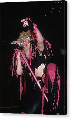 Dee Snider Of Twisted Sister Canvas Print