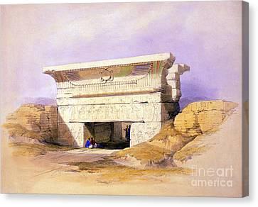 Dendera Canvas Print - Dendera Temple Complex, 1938 by Science Source