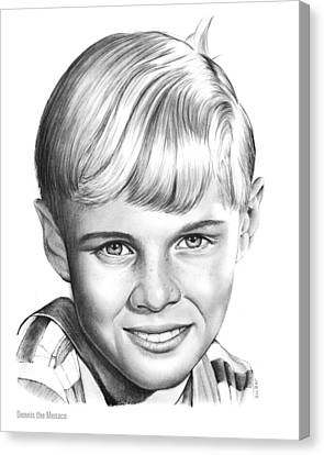 Dennis The Menace Canvas Print by Greg Joens