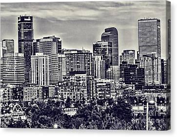 Denver Colorado Canvas Print by Steven Parker