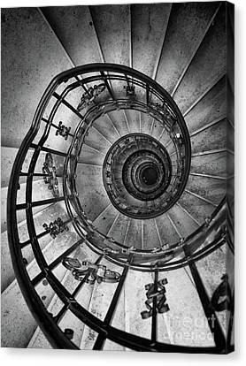 Descent Canvas Print by Philip Openshaw
