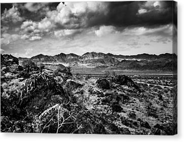 Canvas Print featuring the photograph Deserted Red Rock Canyon by Jason Moynihan