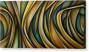 Design 1 Canvas Print by Michael Lang