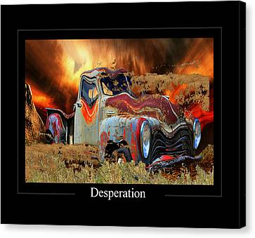 Despiration Canvas Print by Calum Faeorin-Cruich