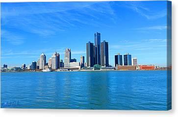 Detroit  Canvas Print by Michael Rucker