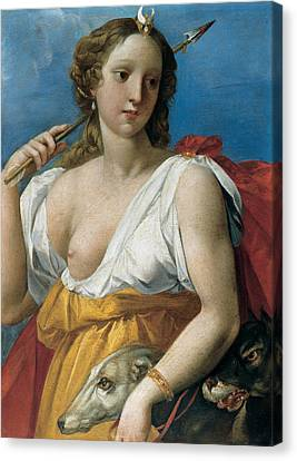 Diane The Huntress Canvas Print