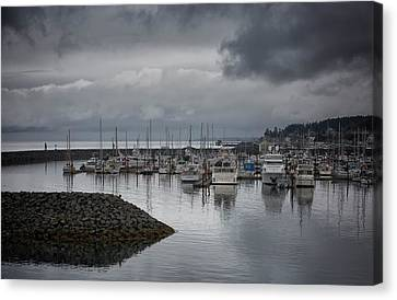 Discovery Harbour Canvas Print by Randy Hall