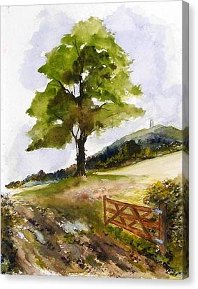 Distant Tor Canvas Print