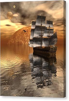 Distant Voyage 2 Canvas Print