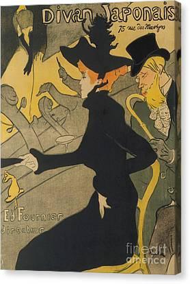 Henri De Toulouse-lautrec Canvas Print - Divan Japonais by Henri de Toulouse-Lautrec