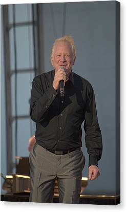 Don Most Singing Canvas Print by Timothy Ruf