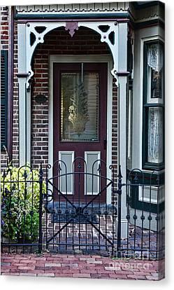 Overhang Canvas Print - Door - Curb Appeal by Paul Ward
