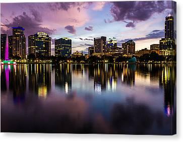 Downtown Orlando Canvas Print