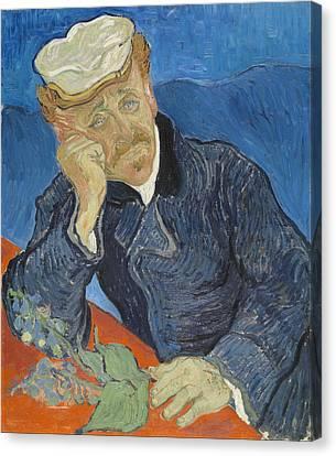 Real Experiences Canvas Print - Dr Paul Gachet 1890 by Vincent Van Gogh