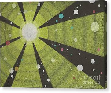 Drawn To The Sun Canvas Print by Janet Hinshaw