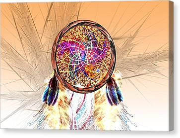 Dream Catcher Canvas Print by Carol and Mike Werner