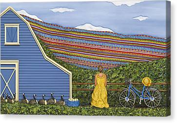 Dream Cycle Canvas Print by Anne Klar
