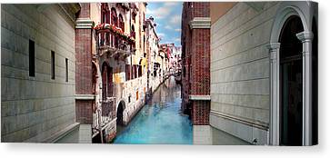 Dreaming Of Venice Panorama Canvas Print by Az Jackson