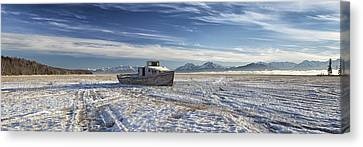 Drifter Pano Canvas Print by Ed Boudreau