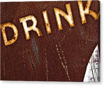 Drink Canvas Print by Curtis Staiger