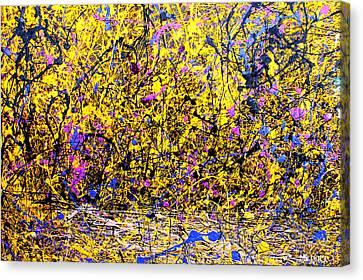 Dripx 1 Canvas Print