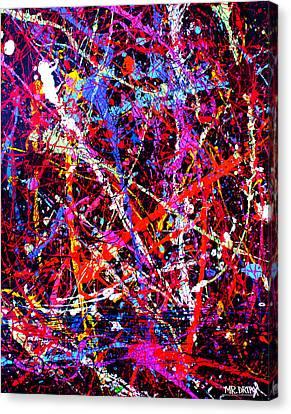 Dripx 10 Canvas Print