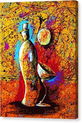 Dripx 88 Canvas Print