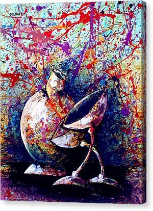 Dripx 77 Canvas Print