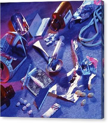 Drug Abuse Canvas Print by Tek Image