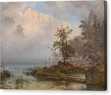 Fearnley Canvas Print - Duck Hunter by Thomas