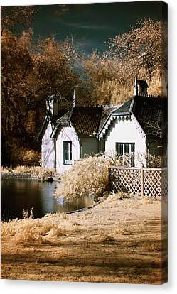 Duck Island Cottage Canvas Print