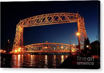 Duluth Aerial Lift Bridge Canvas Print