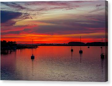 Dusk Canvas Print by RC Pics