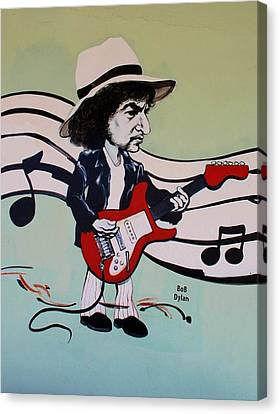 Dylan Canvas Print by Rob Hans